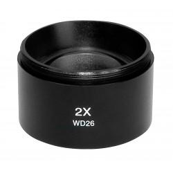 SCIENSCOPE SSZ Objective Lens (2X) SZ-LA-20