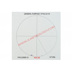 MYLAR GENERAL PURPOSE CHART