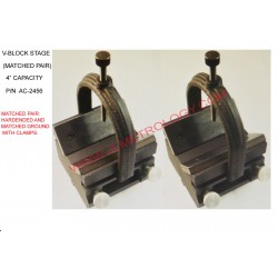 "4"" V-BLOCK STAGES, PAIR"