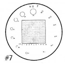 RETICLE 7-FOR 7X COMPARATOR