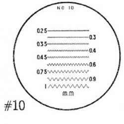 RETICLE 10-FOR 7X COMPARATOR