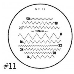 RETICLE 11-FOR 7X COMPARATOR