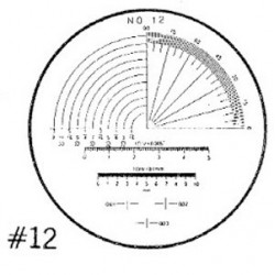 RETICLE 12-FOR 7X COMPARATOR